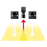 direct lighting, recommended for most machine vision applications