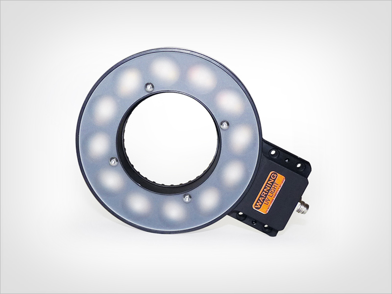 UV ring light -  LED illumination for machine vision